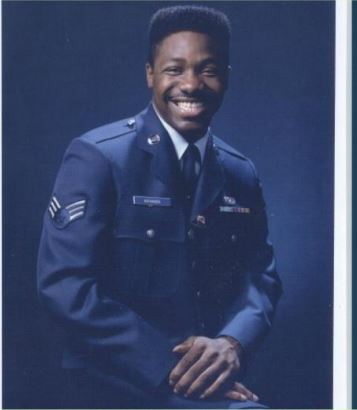 I served my country now I serve you.​ (I have less hair than I did 30 years ago, but same smile.)